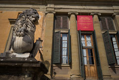 Дворец Флоренс Pitti Стоковое Изображение