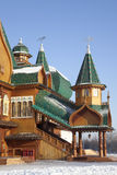 Дворец царя Alexei Mikhailovich. Kolomenskoye. Москва Стоковое фото RF
