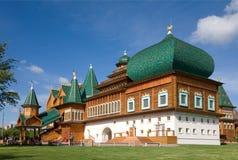 Дворец царя Alexei Mikhailovich. Kolomenskoye. Москва Стоковая Фотография