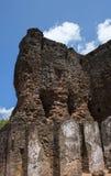 Дворец Шри-Ланка древнего города Polonnaruwa королевский стоковое изображение