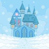 Дворец льда иллюстрация штока