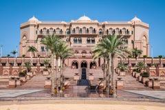 Дворец эмиратов - Абу-Даби, Объединенные эмираты Стоковые Фото