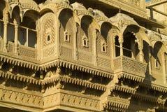 дворец 2 jaisalmer стоковая фотография rf