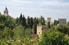 дворец alhambra Стоковая Фотография RF