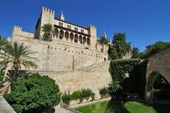 Дворец Almudaina стоковые изображения