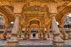 Дворец Amer около Джайпура, Раджастхана Стоковое Изображение