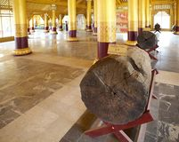 Дворец Bago золотой Стоковые Изображения RF