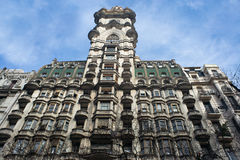 Дворец Barolo в Buenos Aires, Аргентине Стоковые Фото