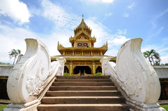 Дворец Bayinnaung в Мьянме Стоковое Фото