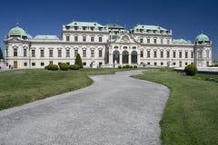 дворец belvedere стоковая фотография