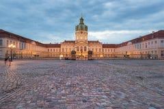 дворец berlin charlottenburg Стоковое фото RF