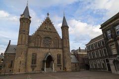 Дворец Binnenhof, Ridderzaal Гаага, Нидерланды Стоковые Изображения