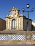 дворец caltagirone Стоковая Фотография