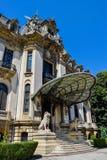 Дворец Cantacuzino в Бухаресте стоковые изображения rf