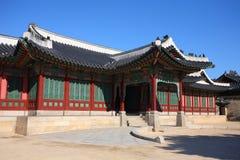 дворец changdokgung Стоковое Изображение