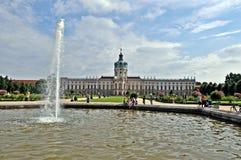 Дворец Charlottenburg Стоковая Фотография