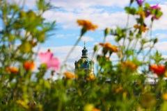Дворец Charlottenburg стоковое изображение rf