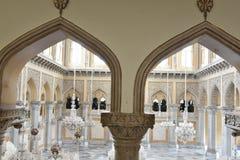 Дворец Chowmahalla, Хайдарабад, Индия стоковая фотография rf
