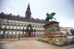 Дворец Christiansborg стоковое изображение rf
