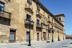 Дворец Condes de Gomara в Сории, Испании Стоковые Изображения RF