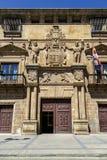 Дворец Condes de Gomara в Сории, Испании Стоковое Изображение