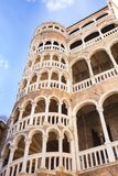 Дворец Contarini del Bovolo, Венеция, Италия стоковое фото rf