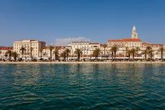 Дворец Diocletian, всемирное наследие ЮНЕСКО Стоковые Изображения