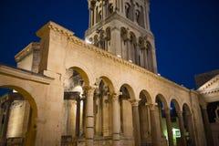 Дворец Diocletian s в разделении Стоковые Фотографии RF