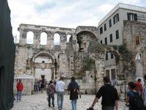 Дворец Dioklecijan Стоковое Изображение
