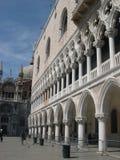 Дворец Doge в Венеция Стоковое Изображение