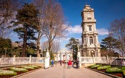 Дворец Dolmabahçe Стоковые Изображения