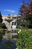 дворец dolmabahce стоковое фото