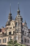 дворец dresden королевский стоковая фотография