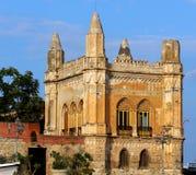 Дворец Florio в Палермо, Сицилии Стоковое фото RF