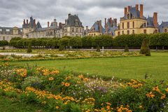 Дворец Fontaineblau Наполеона стоковое фото rf