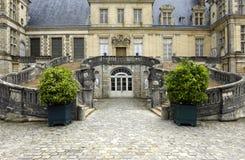 дворец fontainebleau Франции Стоковые Фотографии RF