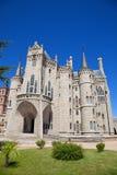 дворец gaudi astorga епископский Стоковые Изображения