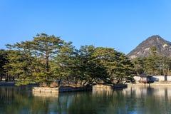 Дворец Geyongbokgung стоковые изображения