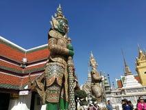 Дворец Grang Таиланд Стоковое Изображение