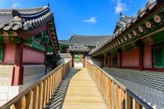 Дворец Gyeongbokgung в Сеуле, Корее Стоковое фото RF