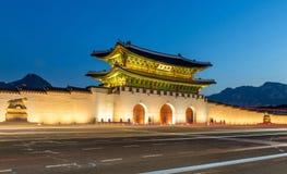 Дворец Gyeongbokgung в Сеуле, Корее Стоковые Фотографии RF