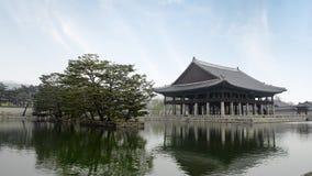 Дворец Gyeongbokgung в Сеуле, Южной Корее акции видеоматериалы