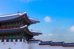 Дворец Gyeongbokgung в Сеул, Корее стоковые фотографии rf
