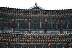Дворец Gyeongbokgung, Корея Стоковое Изображение RF