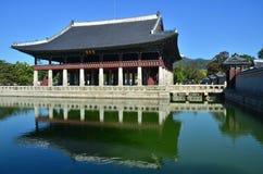 дворец gyeongbokgung Стоковые Изображения RF