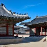 Дворец Gyeongbokgung Стоковое Изображение