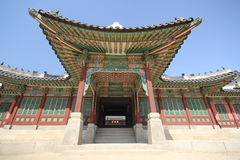 Дворец Gyeongbokgung Стоковое Фото