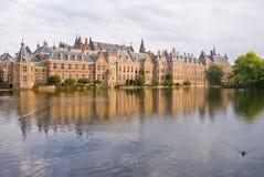 дворец haag вертепа binnenhof стоковые фото