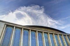 Дворец Hall, Бухарест, Румыния стоковые фотографии rf