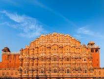 Дворец Hawa Mahal, Джайпур, Раджастхан Стоковое Изображение RF